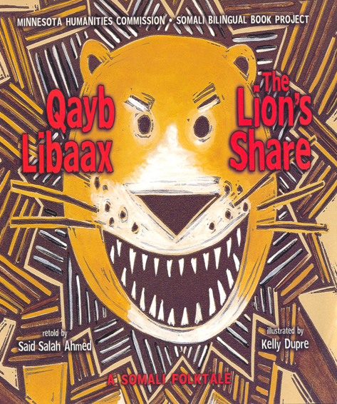 Qaybti Libaaxa The Lion's Share(Hard Cover)