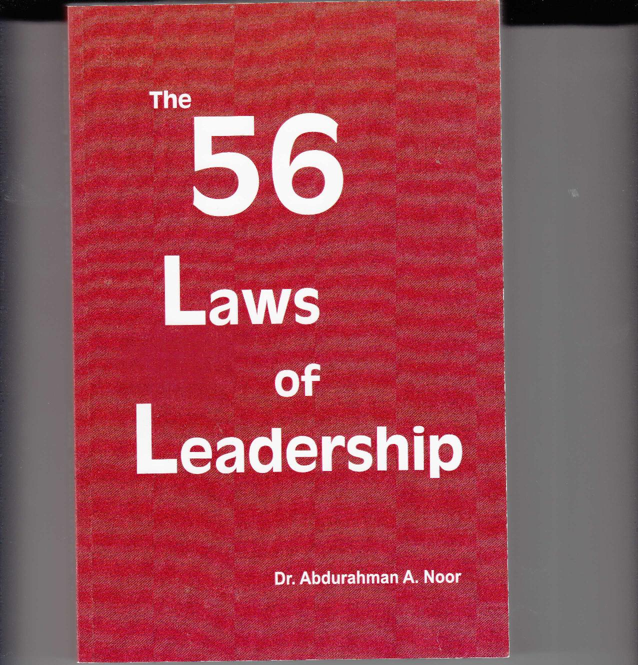 The 56 Laws of Leadership
