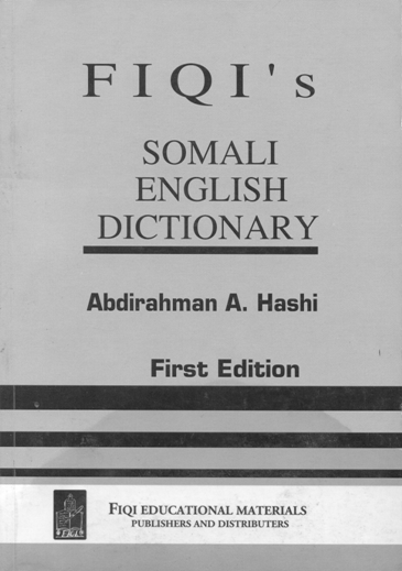 FIQI Somali -English Dictionary