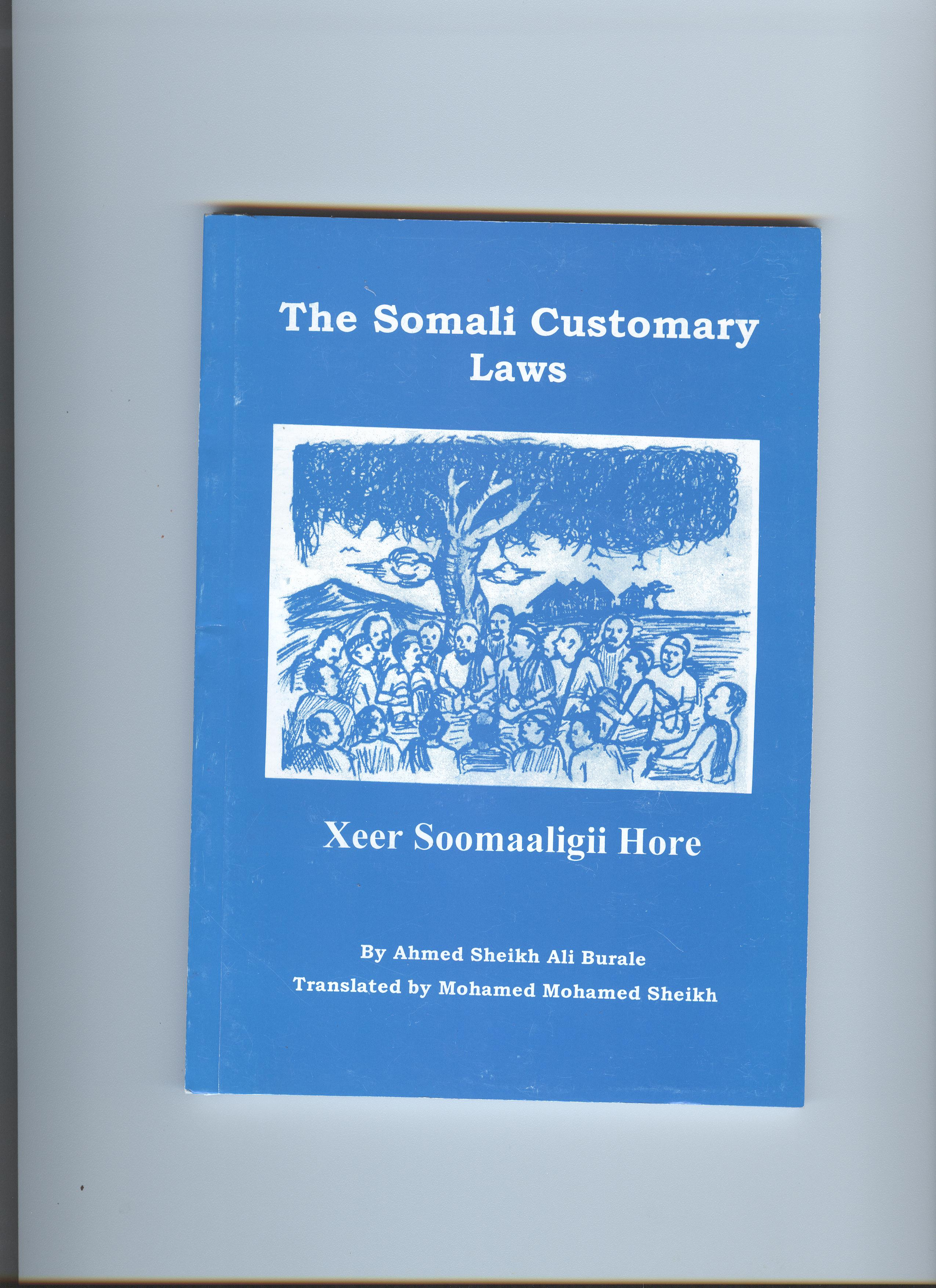 The Somali Customary Law